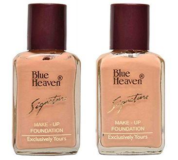 Blue Heaven Signature Foundation (Skin, Natural) (Set of 2)