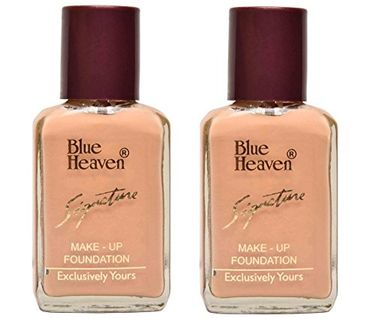 Blue Heaven Signature Foundation (Natural) (Set of 2)