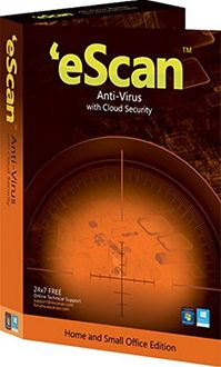 eScan AntiVirus with Cloud Security 1 User 1 Year