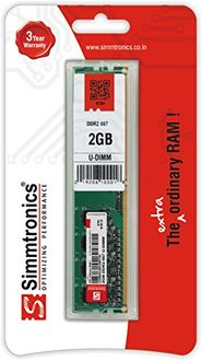 Simmtronics 2GB DDR2 667Mhz Desktop Ram