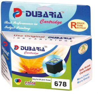 Dubaria 678 Tricolour Ink Cartridge