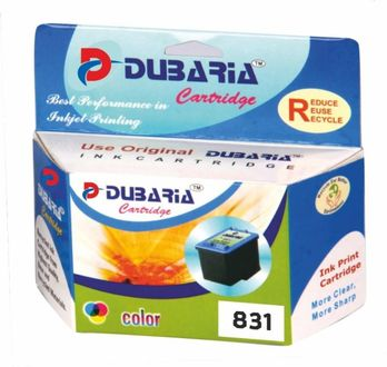 Dubaria 831 Multicolor Ink Cartridge