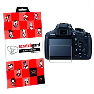 Scratchgard Ultra Clear Screen Protector (For CANON EOS 80D)