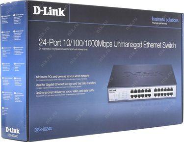 D-Link DGS-1024C 10/100/1000 Mbps 24-Ports Switch