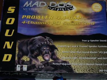 Mad Dog PROWLER 4.1 DSP Sound card