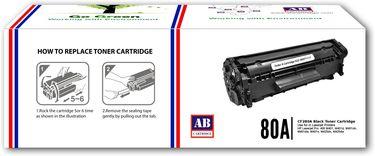 AB Cartridge 80A Black Toner Cartridge