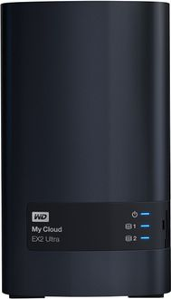 WD My Cloud EX2 Ultra (WDBVBZ0040JCH-BESN) 4TB Personal Cloud Storage Server