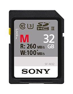 Sony M Series SF-M32/T 32GB UHS II (R260MB/s& W100 MB/s) SD Memory Card