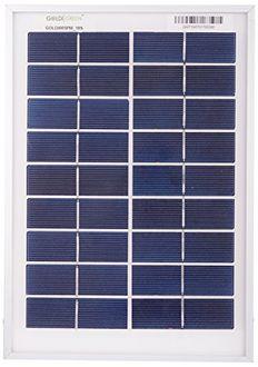 Goldi Green 15W Silicon Solar Panel