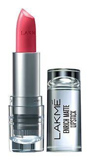 Lakme  Enrich Matte Lipstick (Shade PM12)