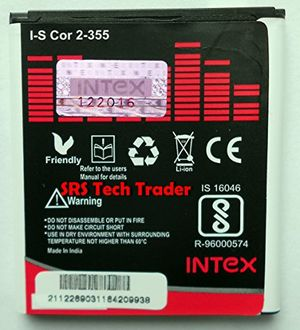 Intex 2000mAh Battery (For Samsung Galaxy Core 2)