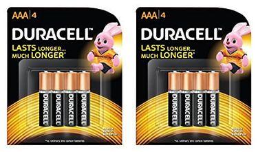 Duracell AAA Long Lasting Alkaline Battery (8 Pcs)