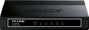 TP-LINK TL-SG1005D 10-1000 Mbps 5-Ports Gigabit Desktop Switch