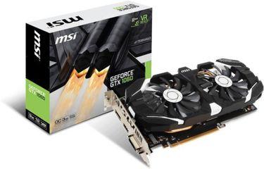 MSI GeForce GTX 1060 3GT OC 3GB GDDR5 Graphics Card