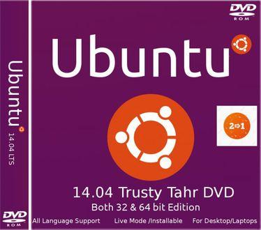 Ubuntu 14.04 Trusty Tahr (32 bit & 64 bit) Operating System