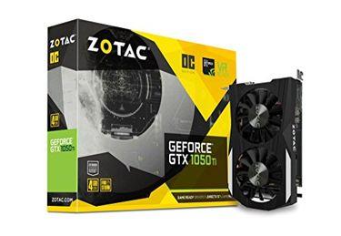 Zotac GeForce GTX 1050 Ti OC Edition (ZT-P10510B-10L) 4GB GDDR5 Graphics Card