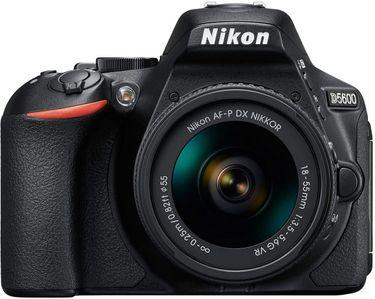 Nikon D5600 DSLR Camera ( With the AF-P DX Nikkor 18 - 55mm F/3.5-5.6G VR Lens )