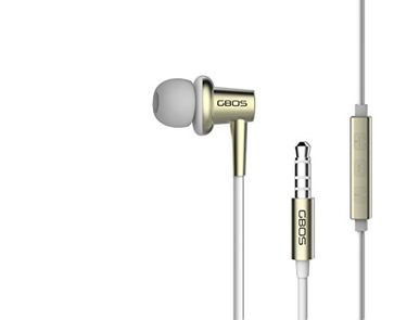 GBOS Premium 135° Bevel In-Ear Headset