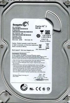 Seagate Pipeline HD (ST3500414CS) 500GB Internal Hard Drive