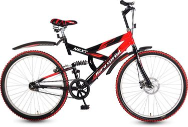 Hero Next 26T Single Speed Sprint Bike - Red & Black (18 inches Frame)