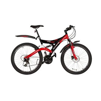 Hero 26T Octane New DTB 26T 21 Speed Cycle (Black & Red) (18 inches Frame)