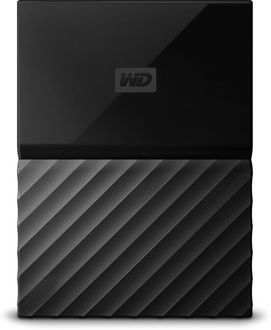 WD My Passport (WDBYNN0010B-WESN) 1TB Portable External Hard Drive