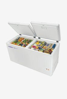Voltas 320 L Metal Top Double Door Deep Freezer
