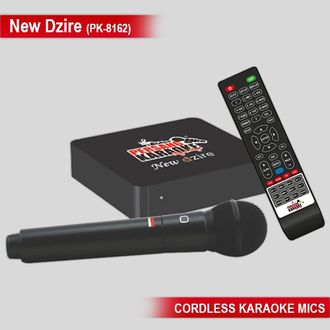 Persang New Dzire PK-8162 Karaoke Player (with 6620 Songs)