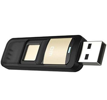 DM PD061 32GB Fingerprint Pen Drive