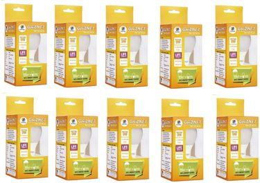 Wipro Garnet 9W B22 LED Bulb (Yellow, Pack of 10)