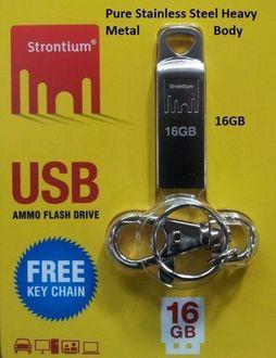 Strontium 16GB Ammo 2.0 Pen Drive