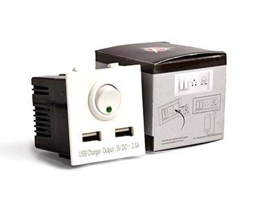 AccuCharger IIP-EMC-102 Dual USB Modular Charger