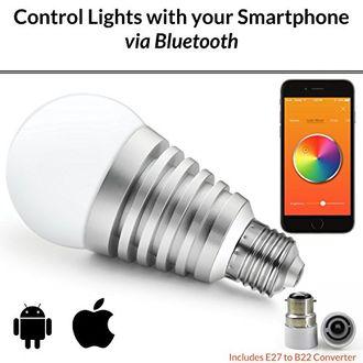 Mansaa SmartShine Wireless 9W LED Bulb (White)