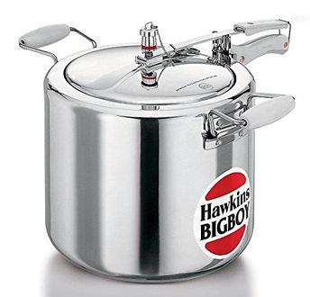 Hawkins Bigboy E20 Aluminium 22 L Pressure Cooker (Inner Lid)