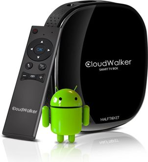 Cloudwalker A8 Smart TV Box with Air Mouse