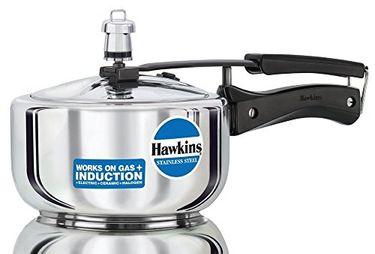 Hawkins Stainless Steel B25 2 L Aluminium Pressure Cooker (Inner Lid)