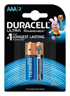 Duracell Ultra AAA2 Alkaline Batteries (8 Pcs)