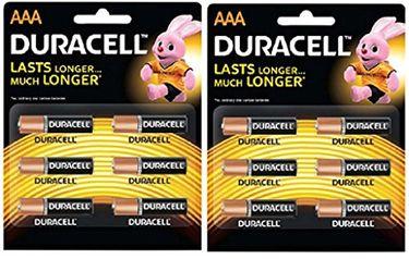 Duracell AAA Alkaline Batteries (12 Pcs)