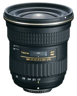 Tokina AT-X 17-35mm F4 PRO FX Lens (For Nikon DSLR)