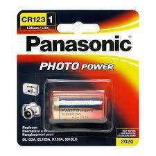 Panasonic Photo Power CR123 Lithium Battery