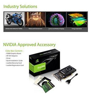 Leadtek Nvidia Quadro P2000 5GB DDR5 Graphic Card