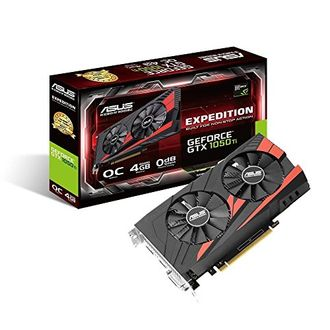 Asus Expedition GeForce GTX 1050Ti (EX-GTX1050TI-O4G) 4GB DDR5 Graphic Card