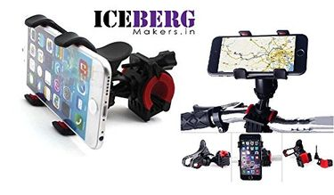 Iceberg Makers Universal Bike Mobile Holder Bracket For Iphones