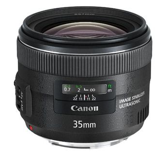 Canon EF 35mm f/2 (Wide Angle) Lens