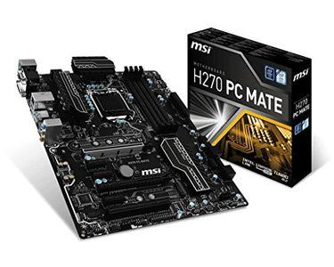 MSI H270 PC Mate Gaming Motherboard