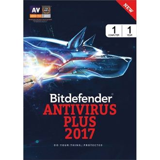 Bitdefender Total Security 2017 1 PC 1 Year Anitvirus (Key)