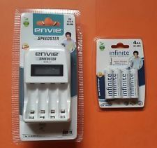 Envie ECR11 Speedster Charger (With Infinite 2100mAh Batteries)