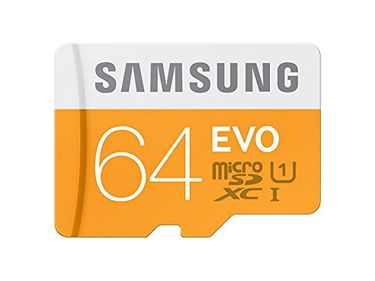 Samsung EVO (MB-MP64GA/IN) 64GB Class 10 (100MB/S) Memory Card (With Adapter)
