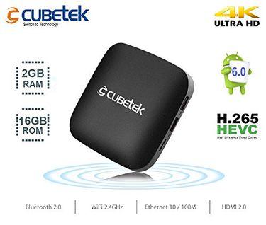 CUBETEK CB4KT-X2 4K Portable Android 6.0 Smart TV Box