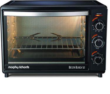 Morphy Richards Besta Black 52 52Ltr  Oven Toaster Grill